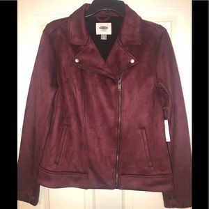 Old Navy Faux Suede jacket Med